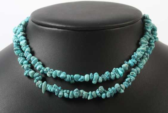 Turquoise chain 20. Century - photo 1