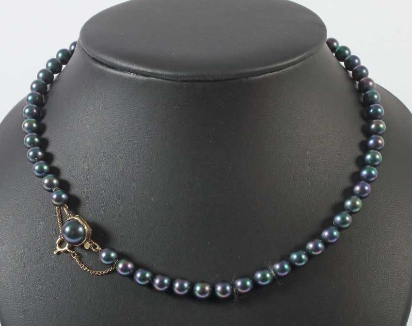 Mallorca pearl necklace 1990s - photo 1