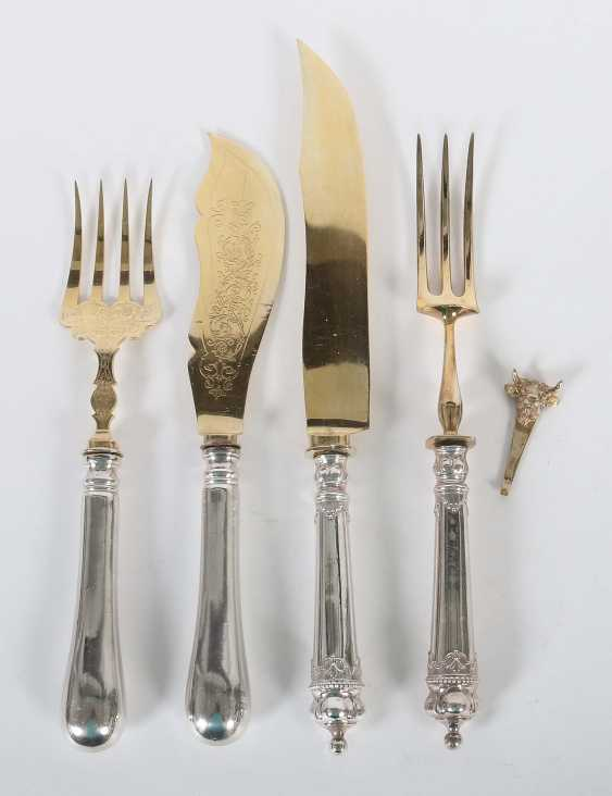 Two Pairs Of Serving Utensils 2. Half of the 20. Century - photo 1