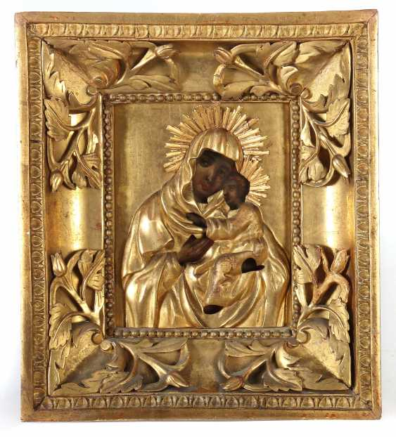 "Icon ""mother of God with child"" South-East Europe - photo 1"