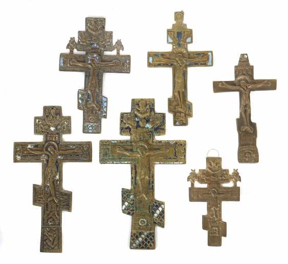Mixed Lot Of Crosses, Russia - photo 1