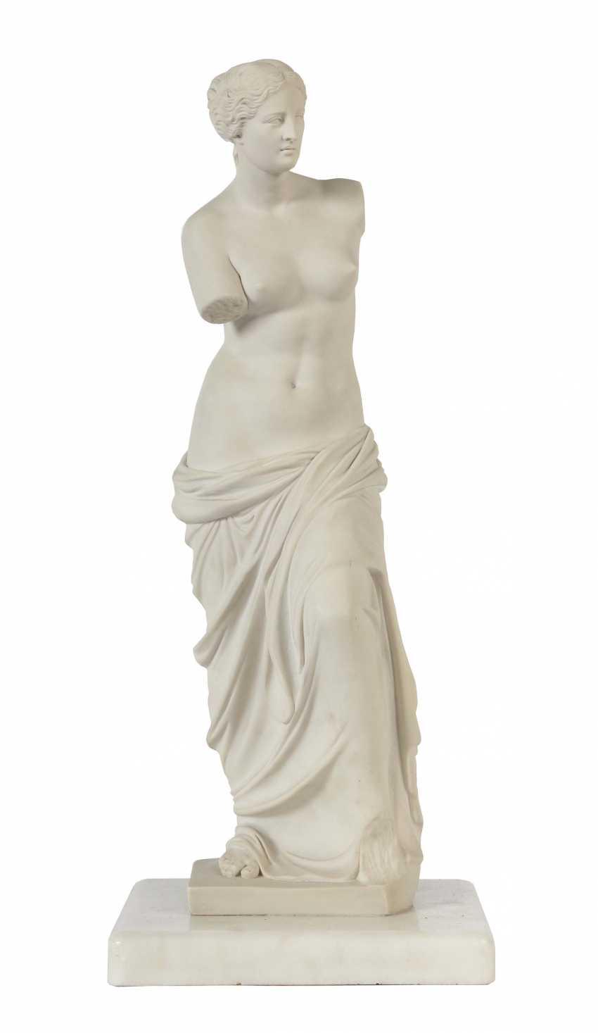 """Sculptor of the 19th century./20. Century """"Venus of Milo"""" - photo 1"""