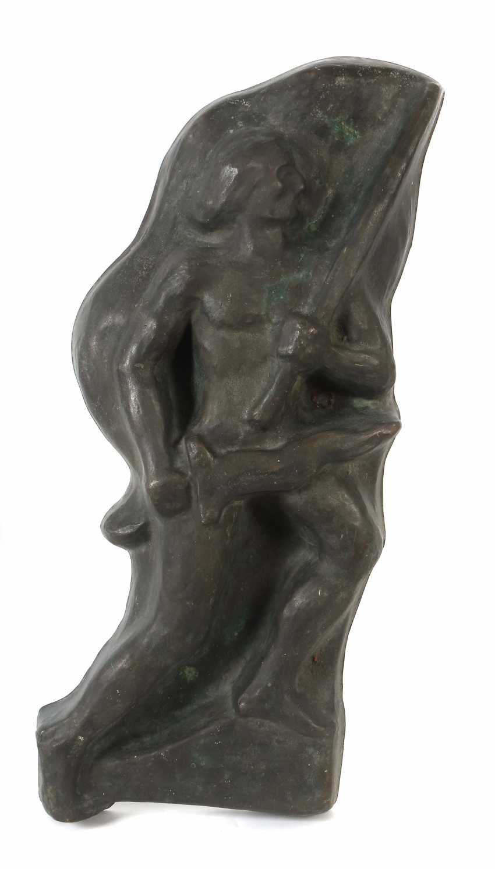 "Sculptor of the 19th century./20. Century, ""The Flag Bearer"" - photo 1"