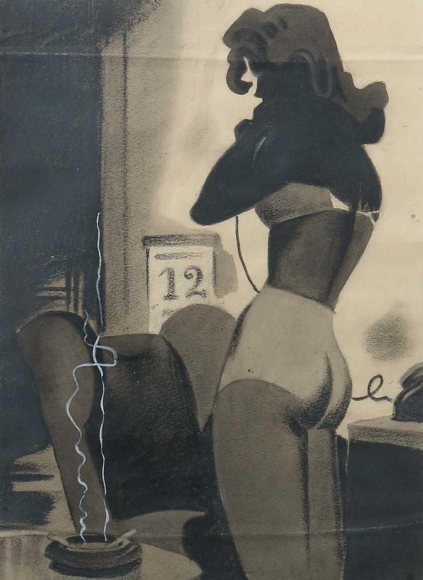 "Painters of the 20th century. Century, ""The Secretary"" - photo 1"