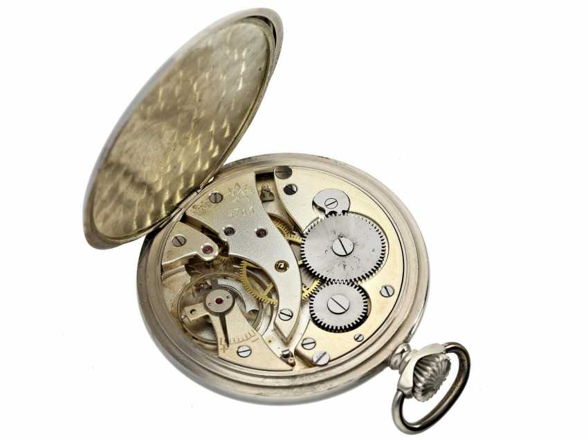 Pocket watch: very decorative and well-preserved Art Deco Frackuhr of the brand Junghans - photo 2