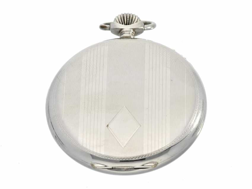Pocket watch: very decorative and well-preserved Art Deco Frackuhr of the brand Junghans - photo 3