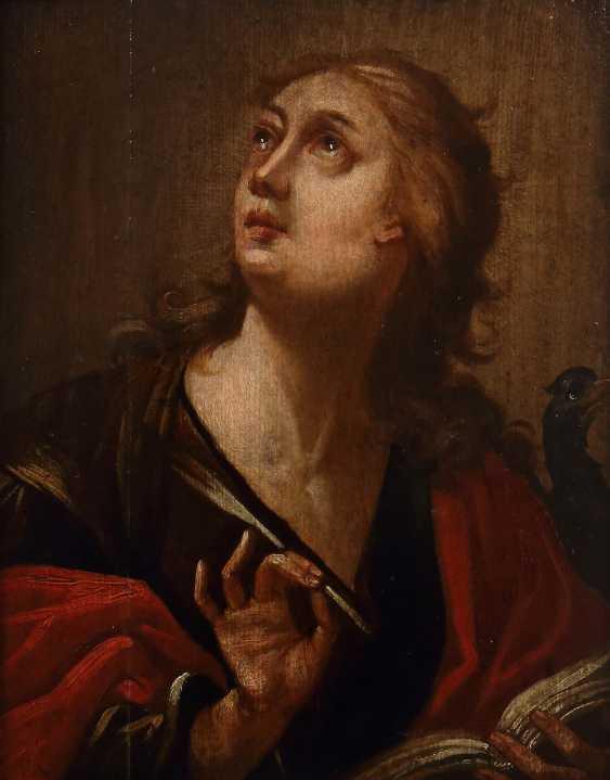 """Painter of the 17th century. Century, """"Saint John"""" - photo 1"""