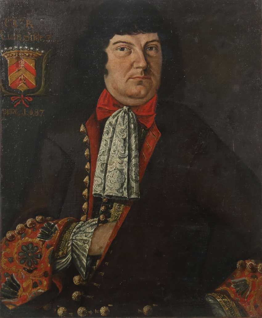 "Painter of the 17th century. Century, ""Portrait of a Nobleman"" - photo 1"