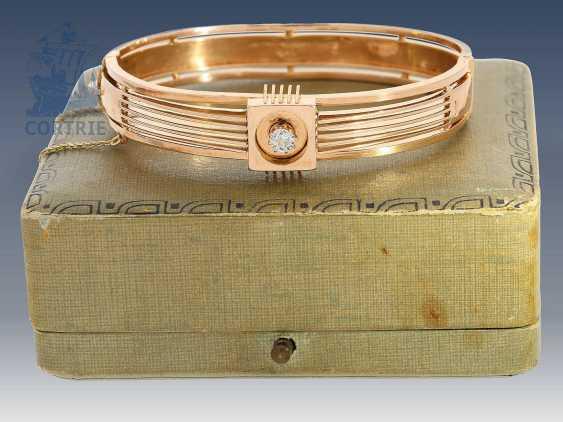 Bracelet: antique bracelet with old European cut Russia brilliant, at the time of art Nouveau - photo 1