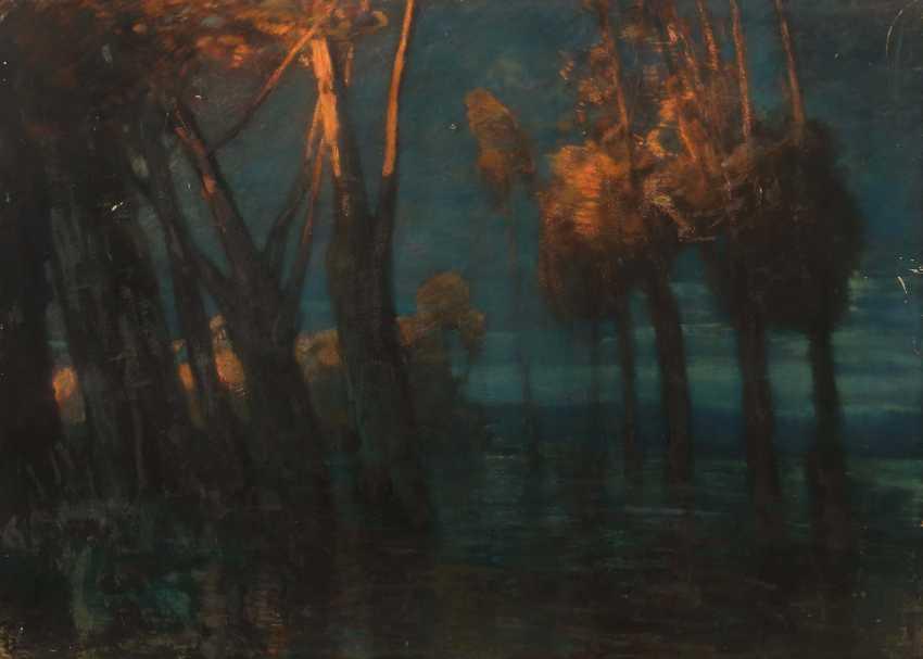 "Painter of the 19th century./20. Century ""Birches"" - photo 1"