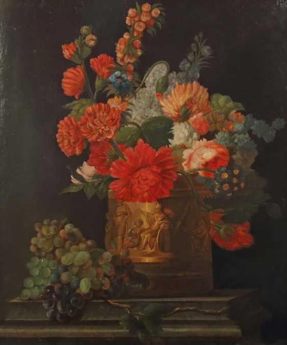 "Silent painter of the 19th century life./20. Century ""Flower Bouquet"" - photo 1"