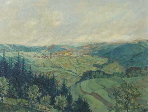 "Painters of the 20th century. Century ""Swabian Landscape"" - photo 1"