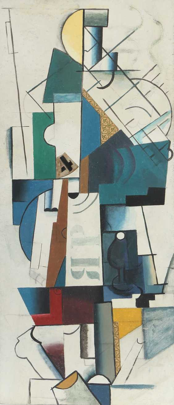 """Russian painter of the 20th century. Century """"As Well As Constructive Composition"""" - photo 1"""