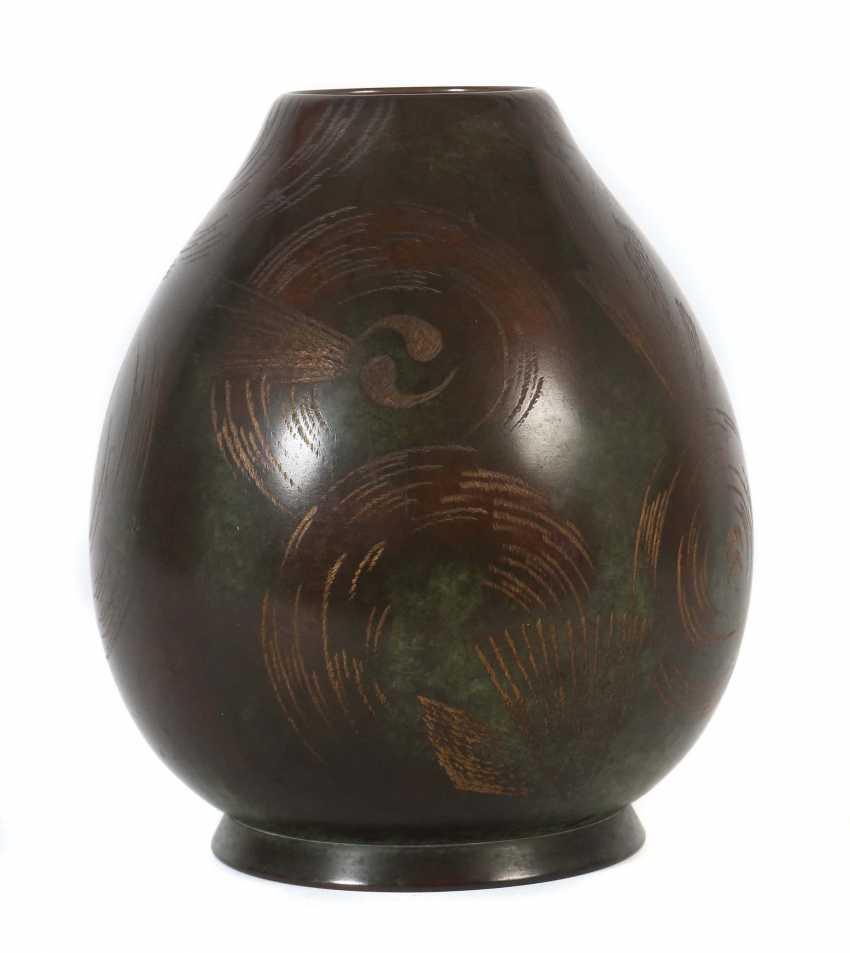 Ikora Metal Vase Germany. Version: WMF - photo 1