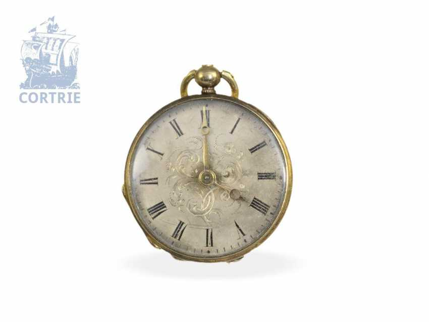 Pocket watch/pendant watch: pair of rare Lepines, miniature sizes, Robert Brandt & Muller, Switzerland ca. 1830/1840, formerly nobleman's possession - photo 3