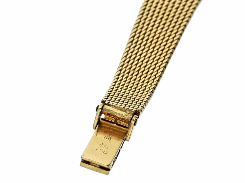 Wrist watch: high quality vintage ladies watch, Omega De Ville in 18K yellow gold, including original box - photo 6