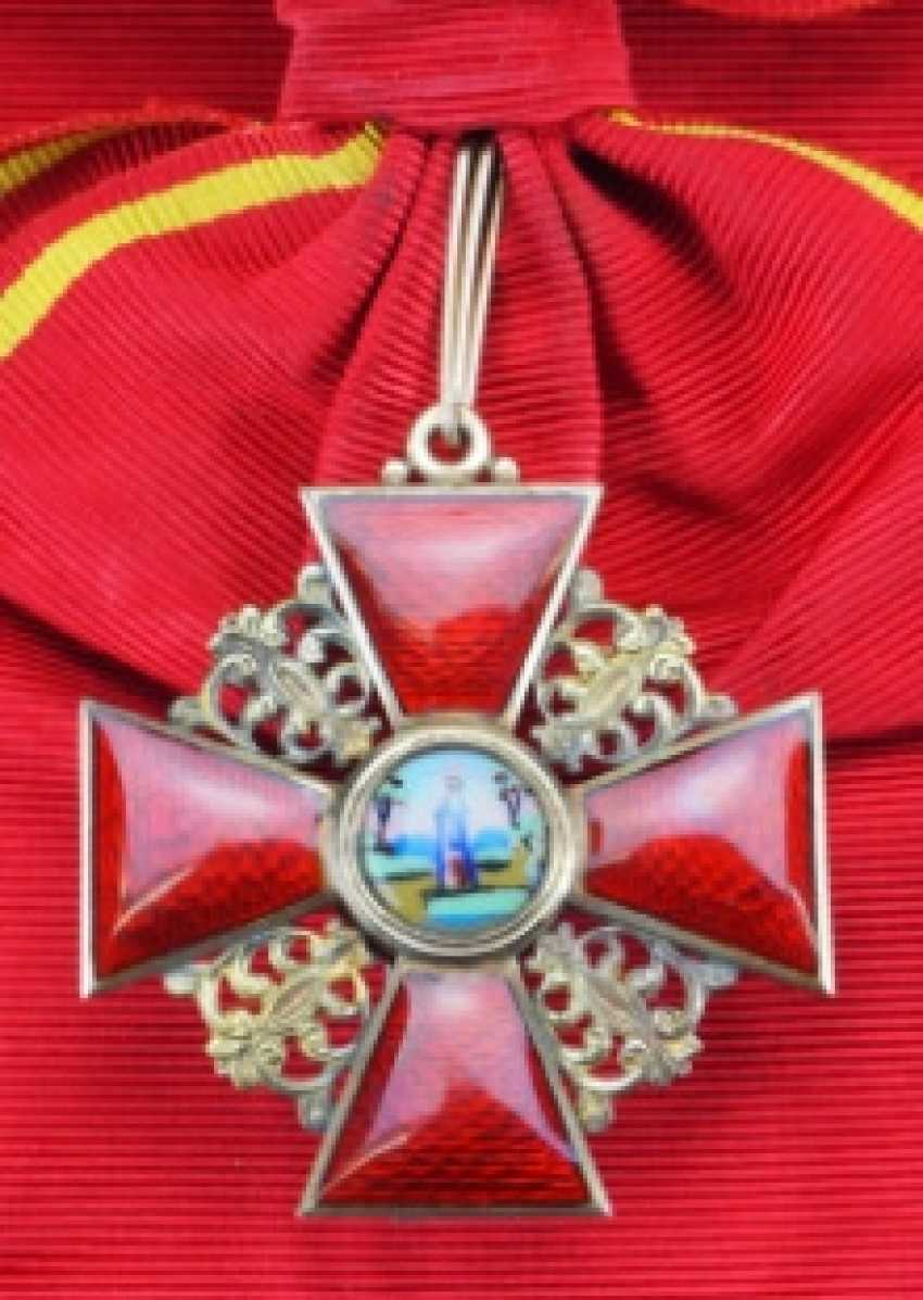 Russia: order of the hl. Anna, 2. Model (1810-1917), 1. Class Cross