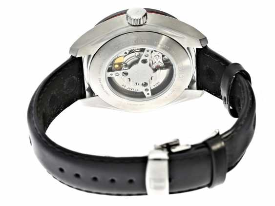 Watch: unworn, sporty men's watch in the Race Design, Tissot Tis516 Automatic Small Second Ref.T100.428.16.051.00 with Box and original papers - photo 3