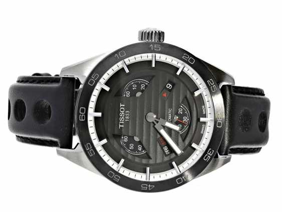 Watch: unworn, sporty men's watch in the Race Design, Tissot Tis516 Automatic Small Second Ref.T100.428.16.051.00 with Box and original papers - photo 1