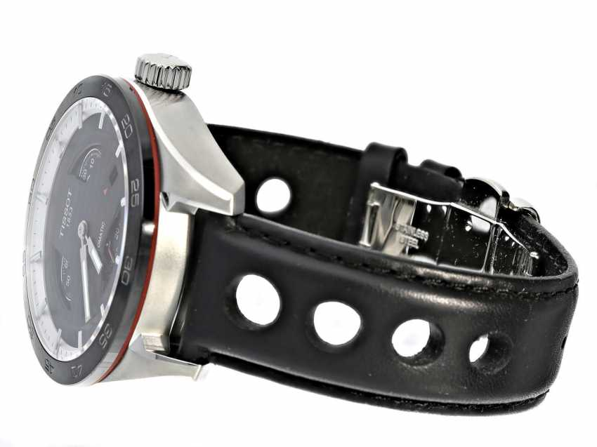 Watch: unworn, sporty men's watch in the Race Design, Tissot Tis516 Automatic Small Second Ref.T100.428.16.051.00 with Box and original papers - photo 2