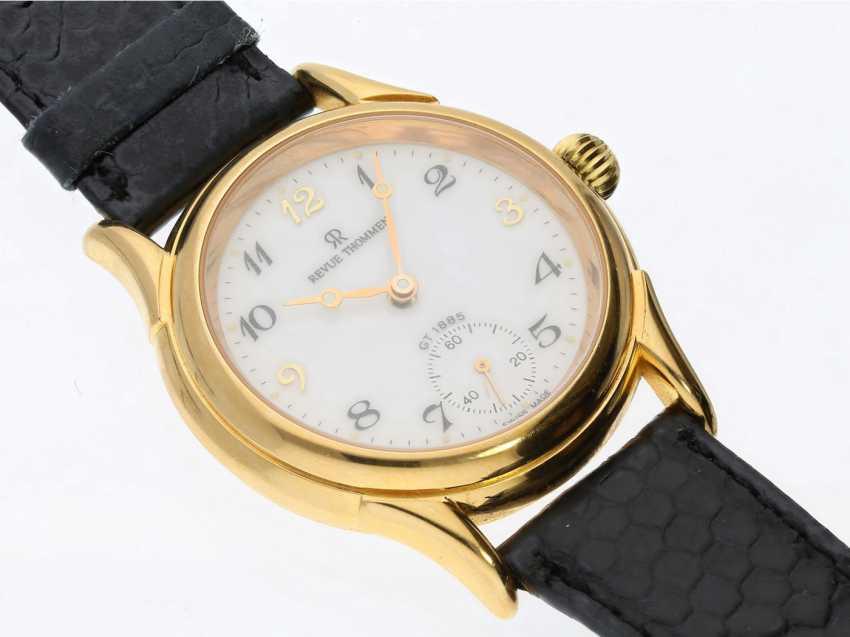Wrist watch: Swiss watch brand Revue Thommen 'Classical' hand lift GT1885 to 2000 - photo 2