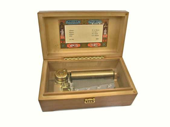 Reuge St. Croix 'Music roll music box CH 4/50 reference 45001 4 classical pieces, 20. Century - photo 1
