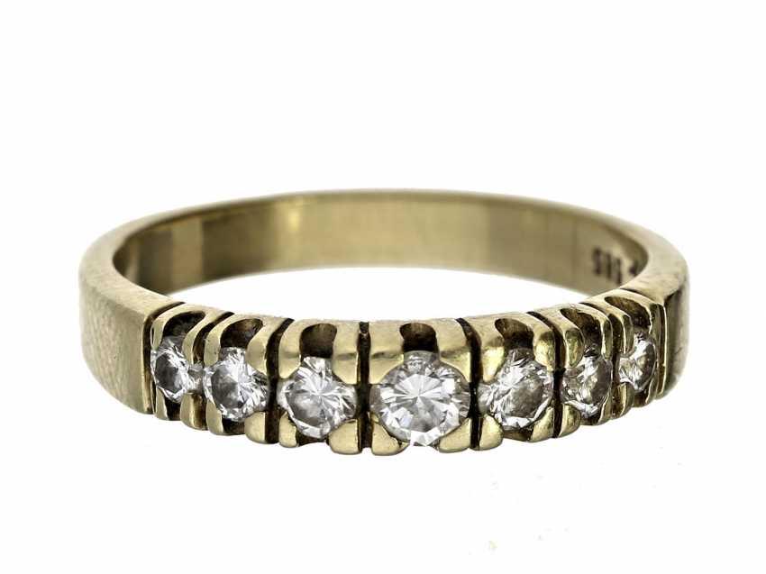 Ring: vintage Brillantring, ca. 0,4ct - photo 1