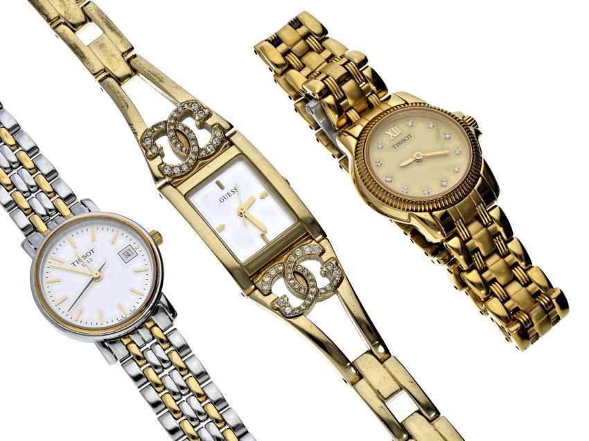 Watch: lot of 3 women's watches/designer watches - photo 1