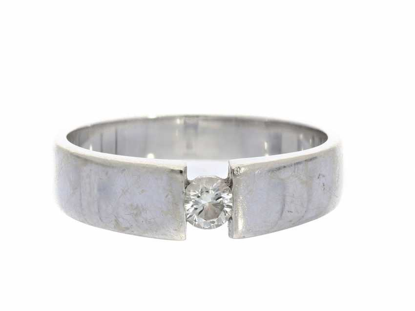 Ring: brilliant-solitaire ring from Christ - photo 1