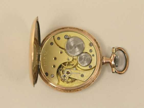 Pocket watch: gold man's pocket watch from Omega from the art Nouveau period - photo 2
