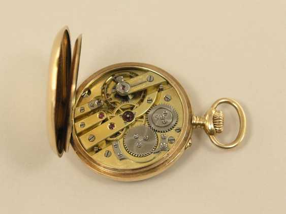 Pocket watch: very fine women's watch with high quality gold case, Borel Fils & Cie, circa 1900 - photo 2