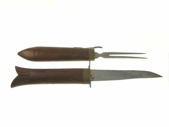 Carving Cutlery/hunting Cutlery: India 1900's - photo 1