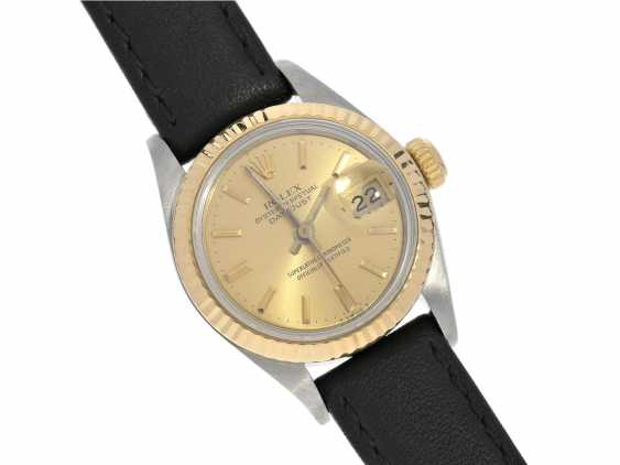 Wrist watch: high quality vintage ladies watch from Rolex in a very good condition, Lady-Datejust, Ref.69173 steel & Gold, year of built 1988 - photo 6