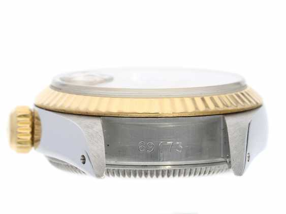 Wrist watch: high quality vintage ladies watch from Rolex in a very good condition, Lady-Datejust, Ref.69173 steel & Gold, year of built 1988 - photo 7