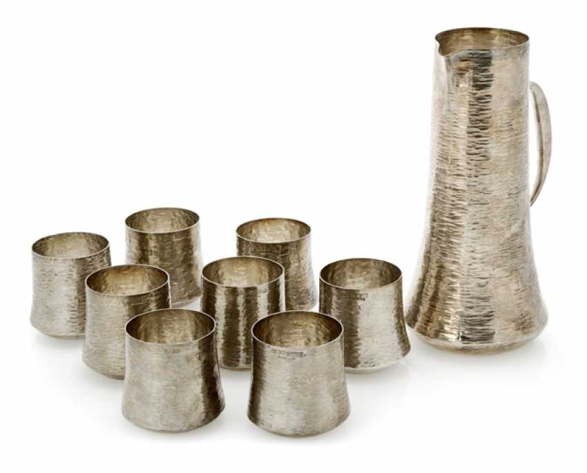 Tapio Wirkkala - pot and eight cups - photo 1