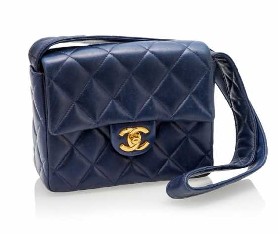 Chanel Small Vintage Flap Bag in Blue - photo 1