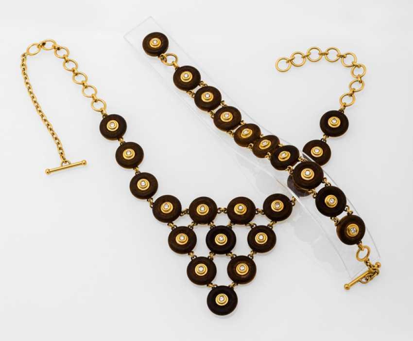 Christian Dior - Gold-Diamant-Parure - photo 1