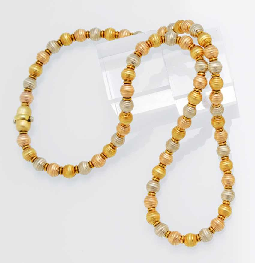 Gold-Necklace-Three-Colors - photo 1