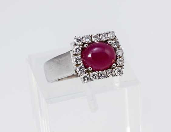 Rubin-Diamant-Ring - photo 1