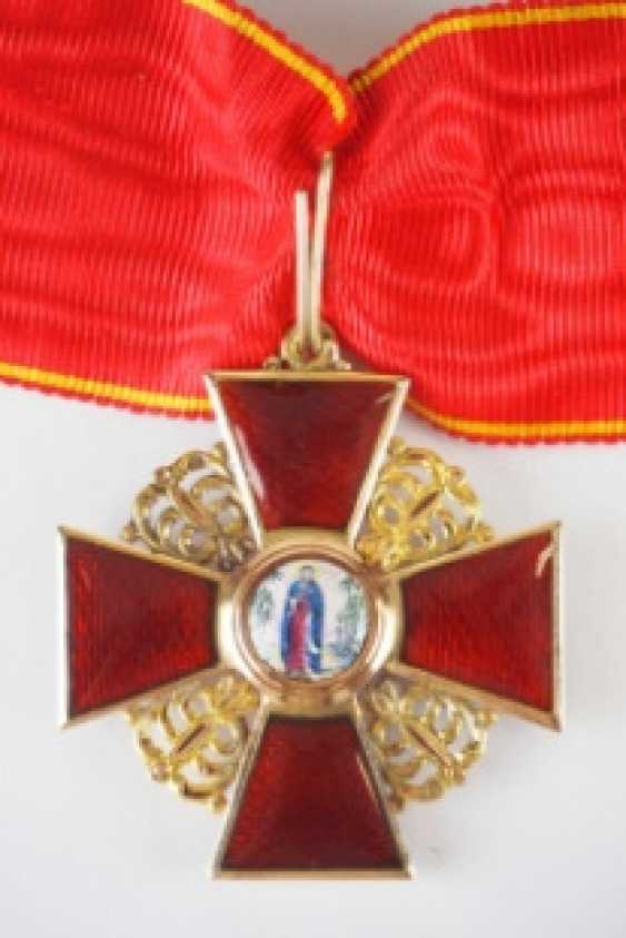 Russia: order of the hl. Anna, 2. Model (1810-1917), 2. Class