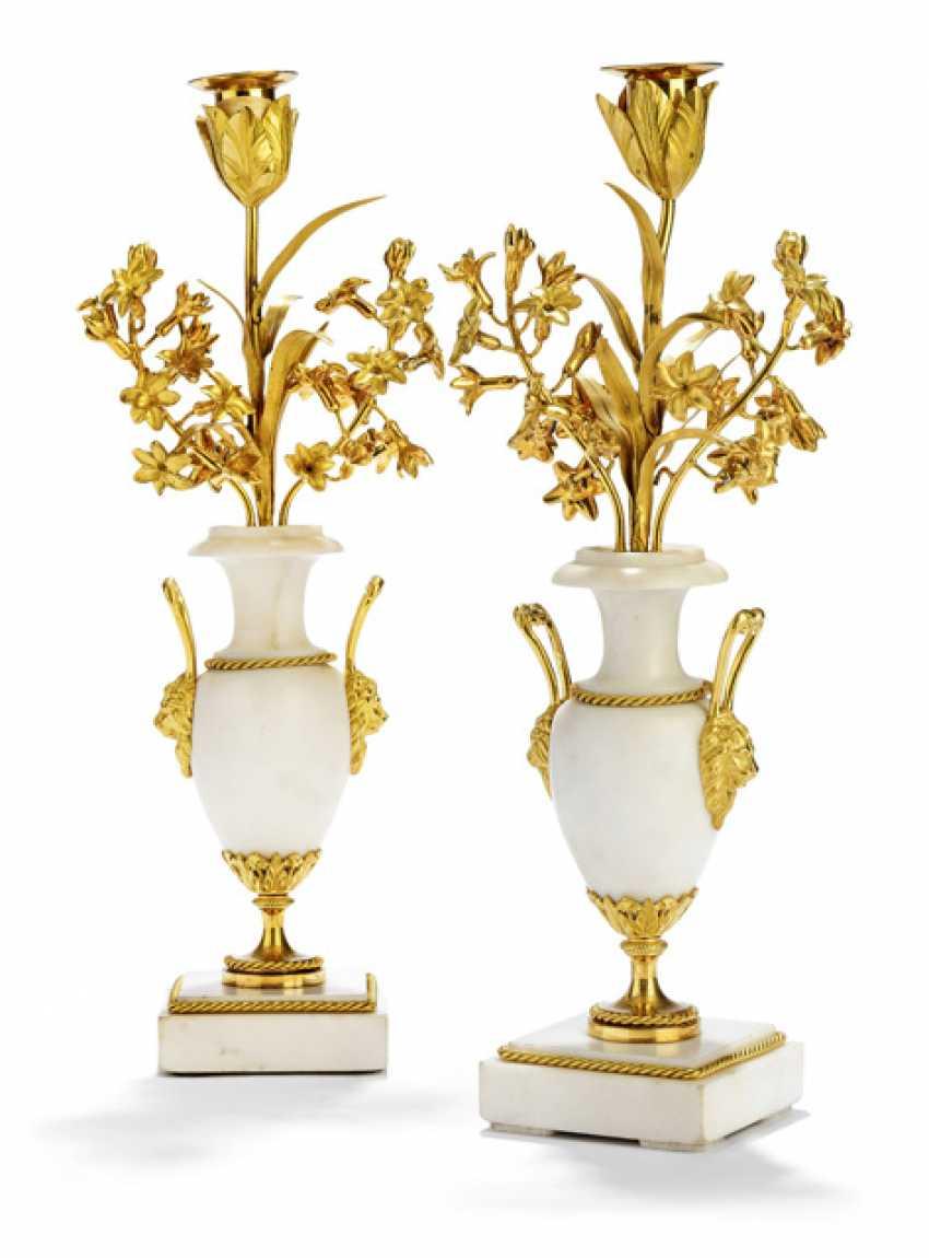 Pair of fine Louis XVI-Zierleuchter - photo 1