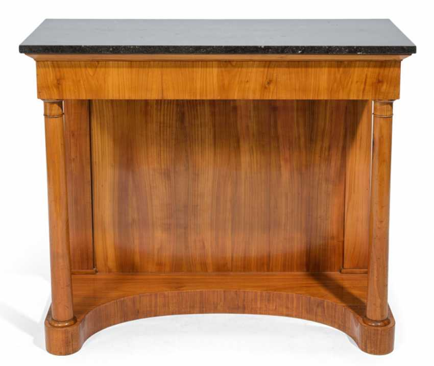 Biedermeier Console Table - photo 1