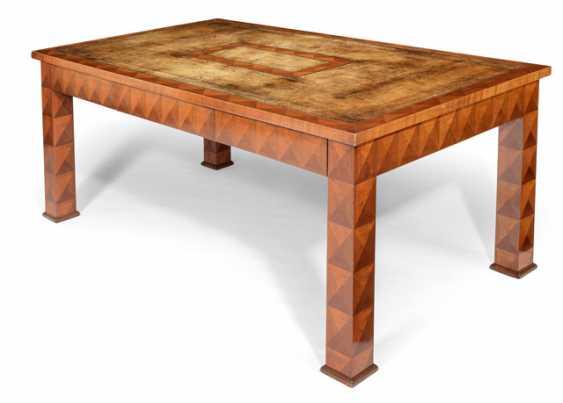 Large Art Deco Desk - photo 1