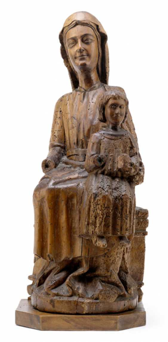 Enthroned Mother Of God - photo 1