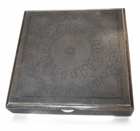 SILVER BOX, THE CAUCASUS, ENGRAVING - photo 1