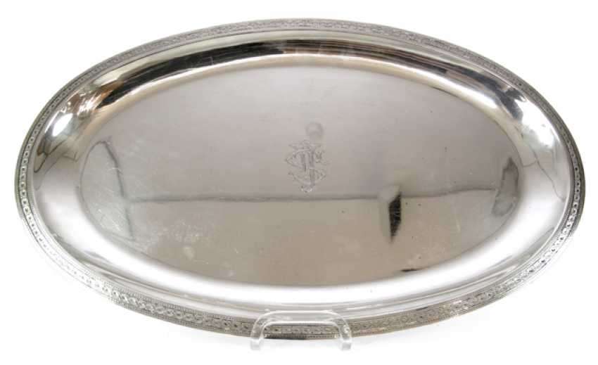 OVAL TRAY, BERNE, AT THE BEGINNING OF - photo 1