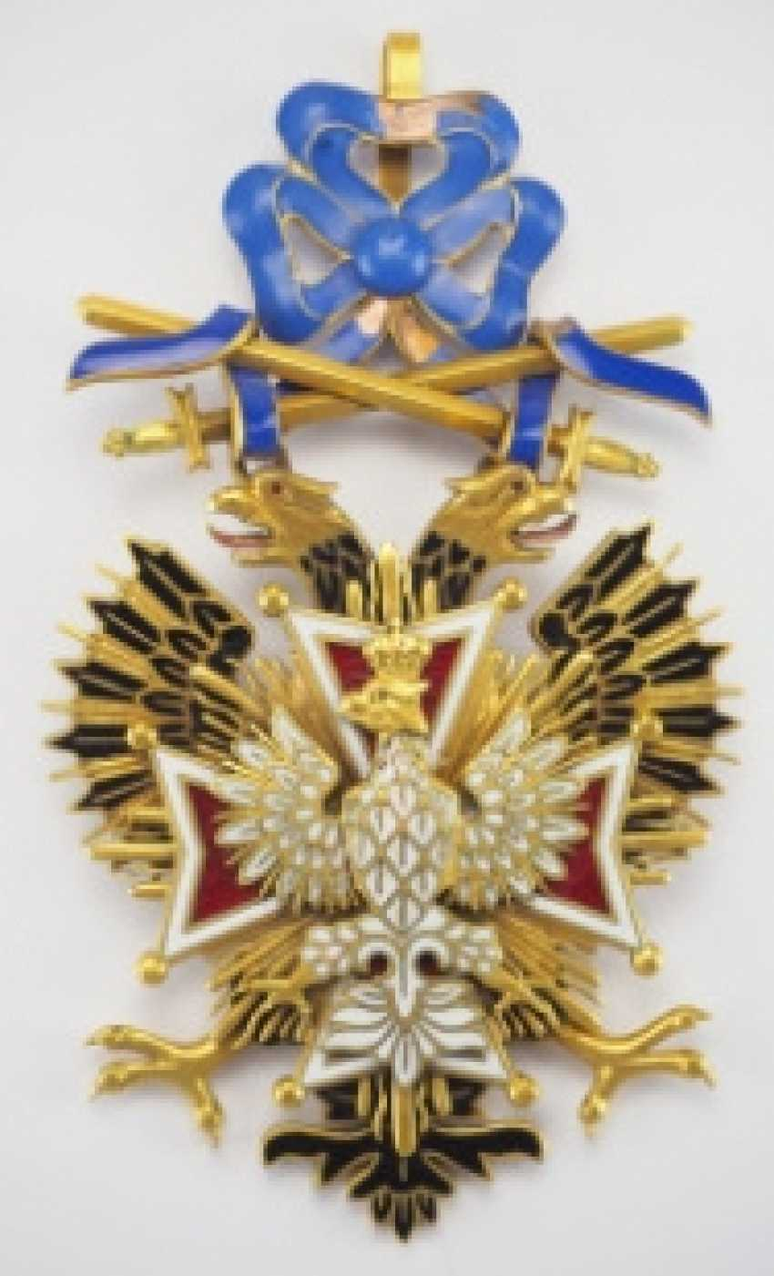 Russia: order of the White eagle with swords, gem - photo 1