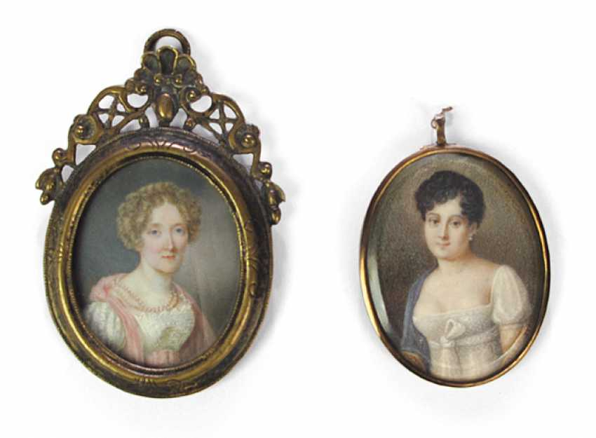 PORTRAITS OF TWO OF THE EMPIRE-LADIES - photo 1