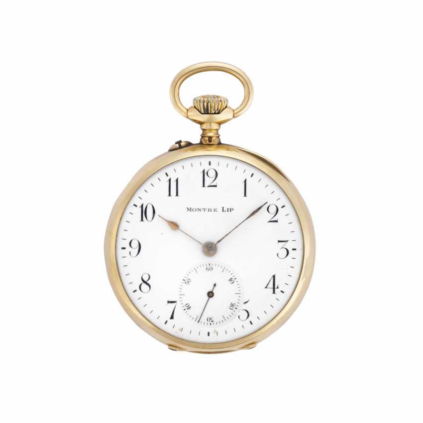 MONTRE LIP: Orologio da tasca in oro 18K - photo 1