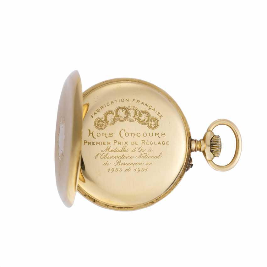 MONTRE LIP: Orologio da tasca in oro 18K - photo 2